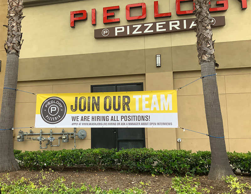 Buy Now Hiring Banners and Signs in San Diego